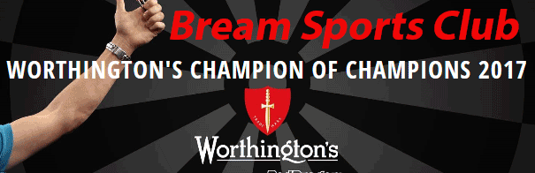 A graphic for Worthington Champion of Champions Darts 2017