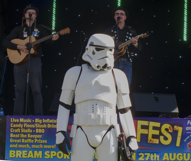 A photo of a Stormtrooper at BreamFest 2017