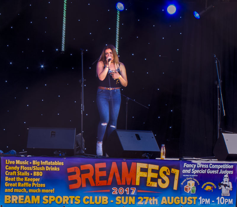 A photo of Ellie Higgs at BreamFest 2017