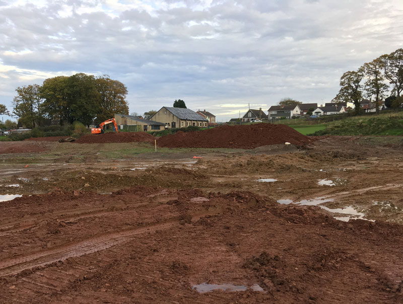 Work on the Sports Grounds progresses