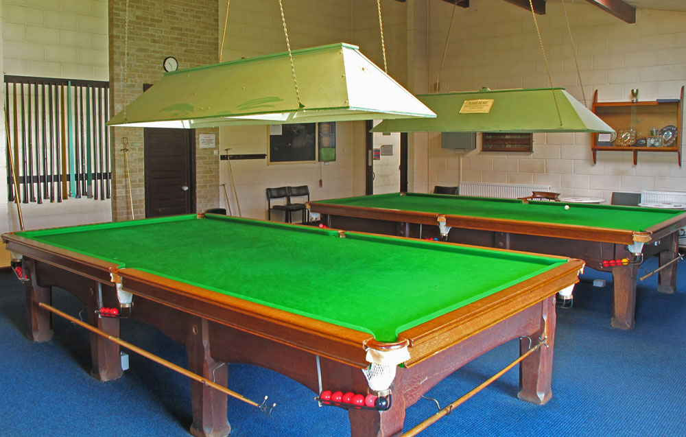 A photo of The Snooker Room