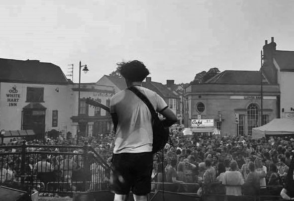 A photo shwoing Bexley Terr at Coleford Music Festival