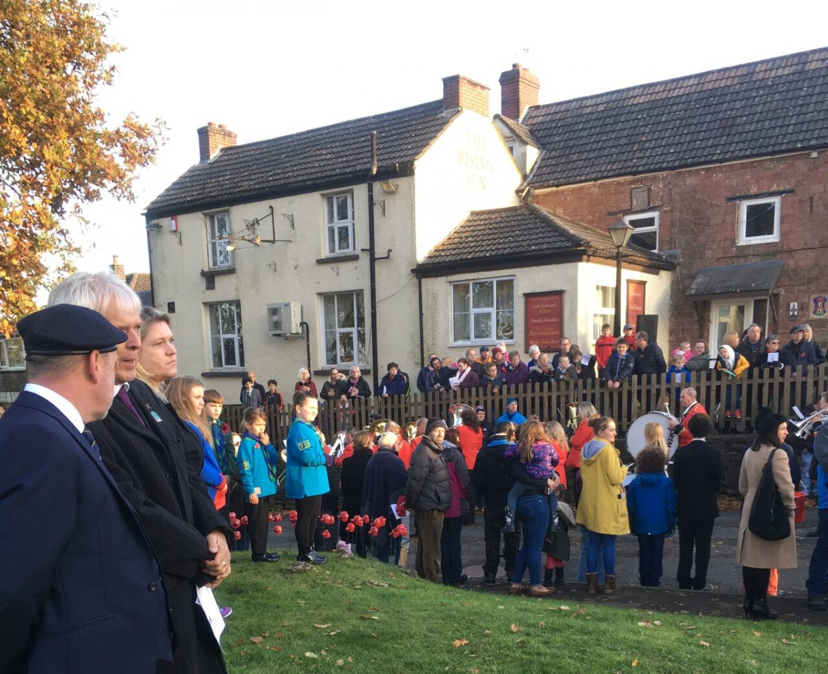 Remembrance Day at the Cenotaph Nov. 2019