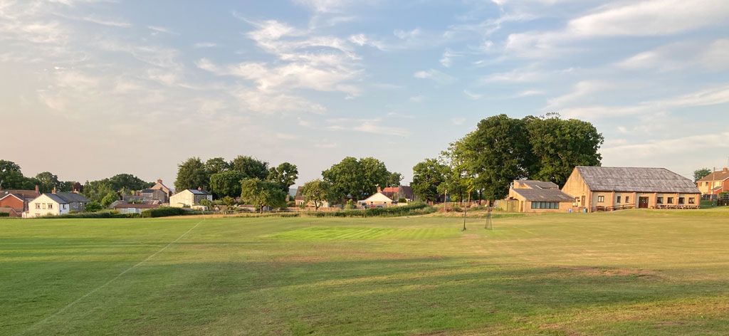 A photo showing Bream Sports Club and grounds, June 2020
