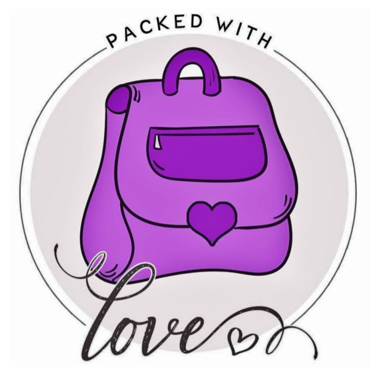 The Packed with Love logo.