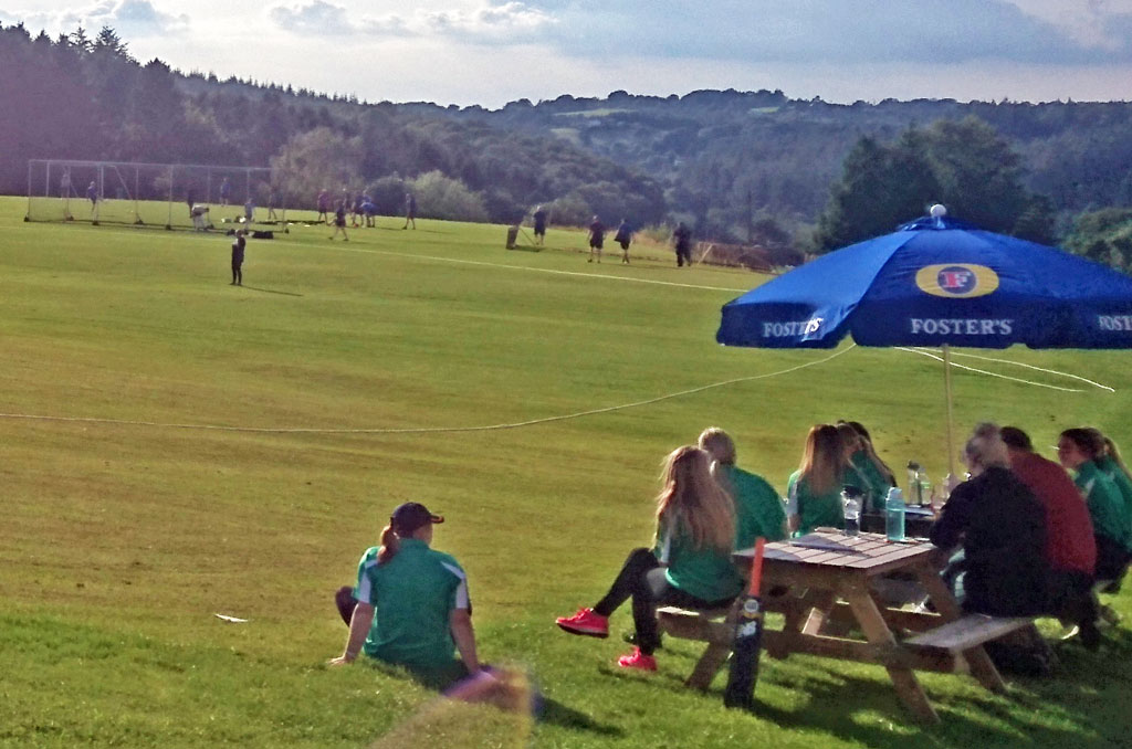 A photo of Ladies Cricket and Men's Football on the Lonk.